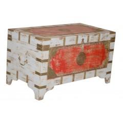 Indyjski antyczny kufer 81X43X46