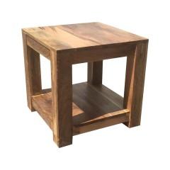 Stolik z drewna mango 45x45x45