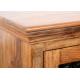 Drewniana Komoda z szybą RTV JALI 150x45x60