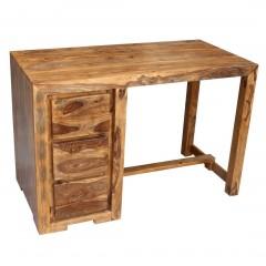 Drewniane indyjskie biuro 120x60x80