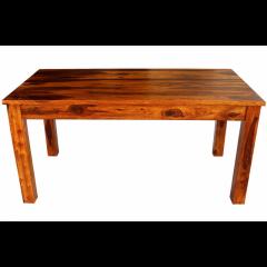 Drewniany rozkładany stół 160x75x76