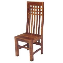 Kolonialne indyjskie Krzesło 110x45x45