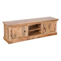 Satynowa drewniana komoda 180x55x45
