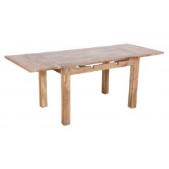 Satynowy rozkładany stół 120x80x76