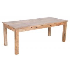 Drewniany rozkładany stół 140x90x76