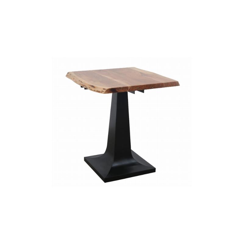 Loftowy stół z akacji 70x70x80