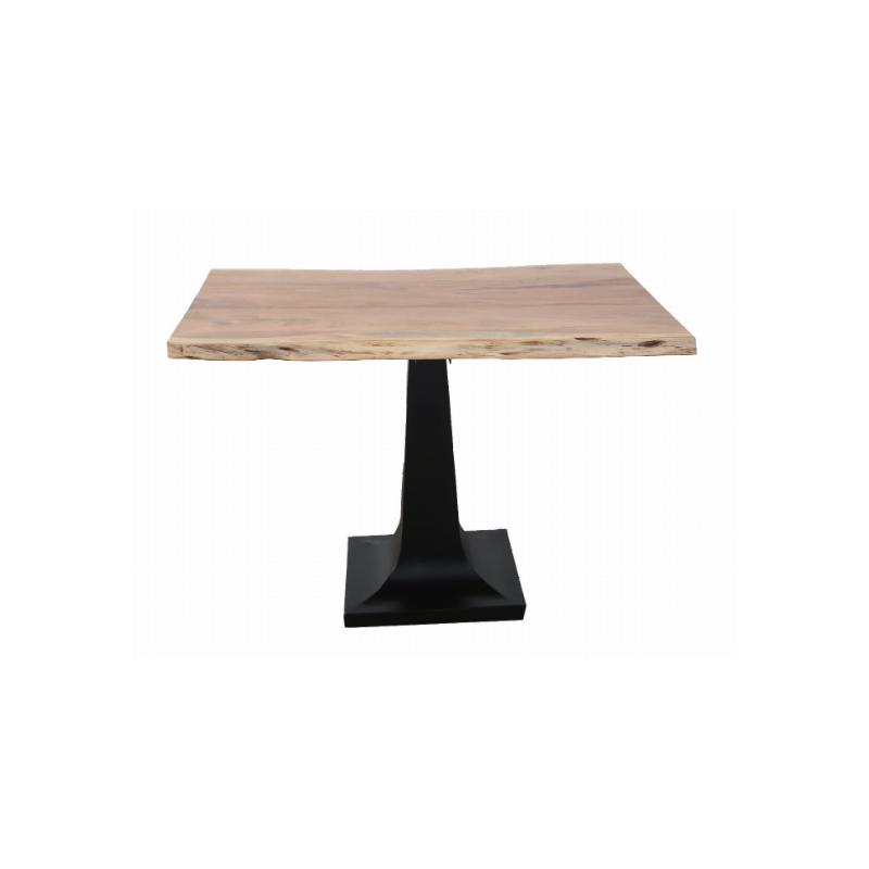 Loftowy stół z akacji 116x80x78