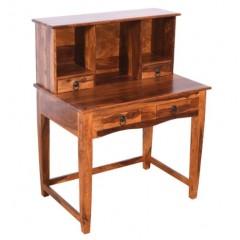 Drewniane indyjskie biurko 115x90x60