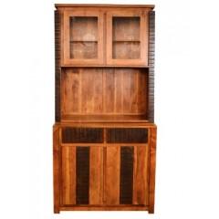 Kredens z drewna akacji 200x100x55