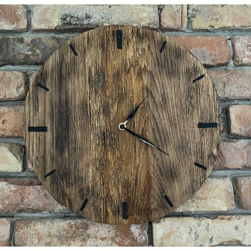 Drewniany zegar 37x37