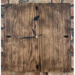 Drewniany rustykalny zegar 36x36