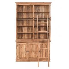 Klasyczna drewniana Biblioteczka 150x42x250