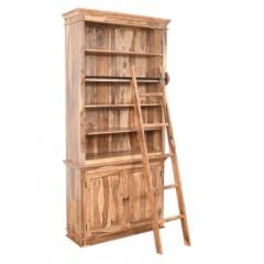 Klasyczna drewniana Biblioteczka 120x42x250