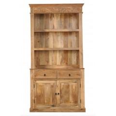 Drewniana biblioteczka 230x120x45