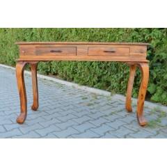 Indyjska drewniana Konsola 120x45x76