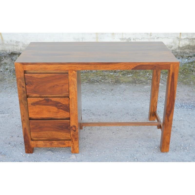 Indyjskie drewniane biurko ZEN 120