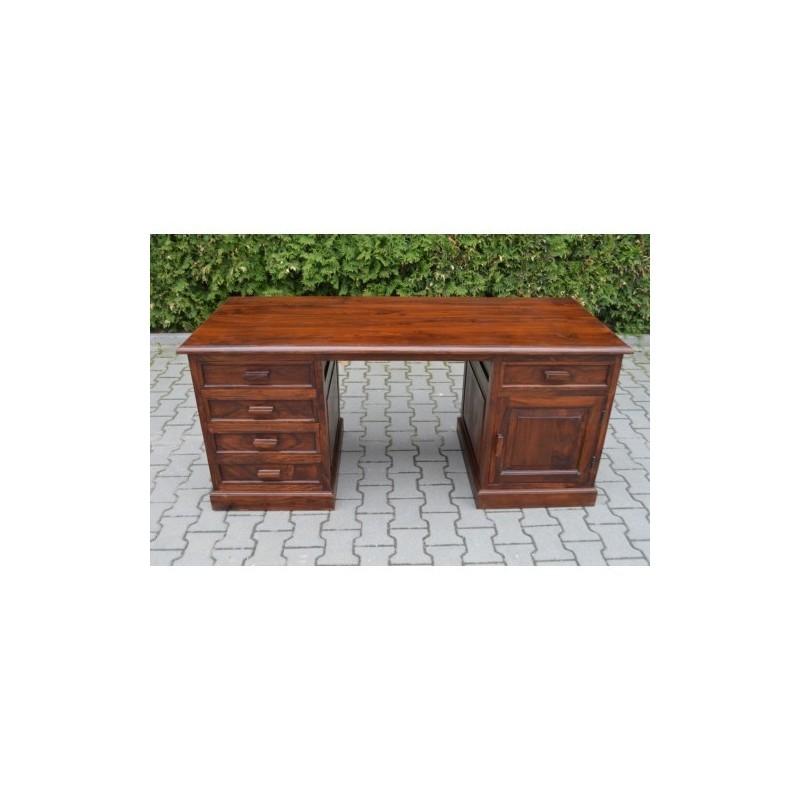 Klasyczne drewniane biurko 76x170x70