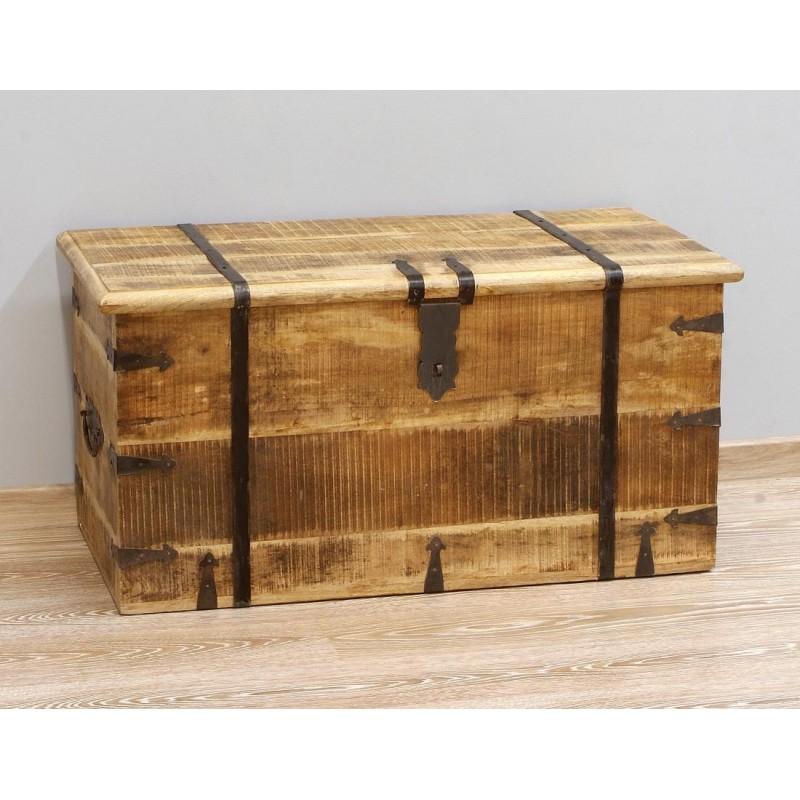 Drewniana Skrzynia LOFT MS 50x100