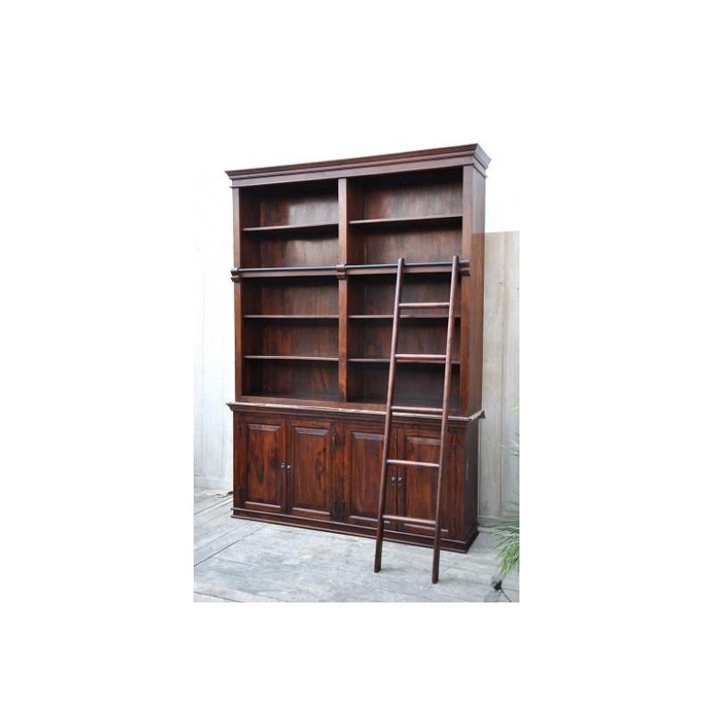 Klasyczna palisandrowa Biblioteczka 180x250x42