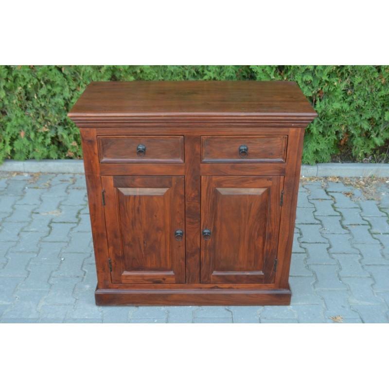 Kolonialna drewniana Komoda 90x96
