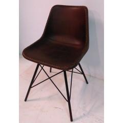 Indyjskie Krzesło ze skórą