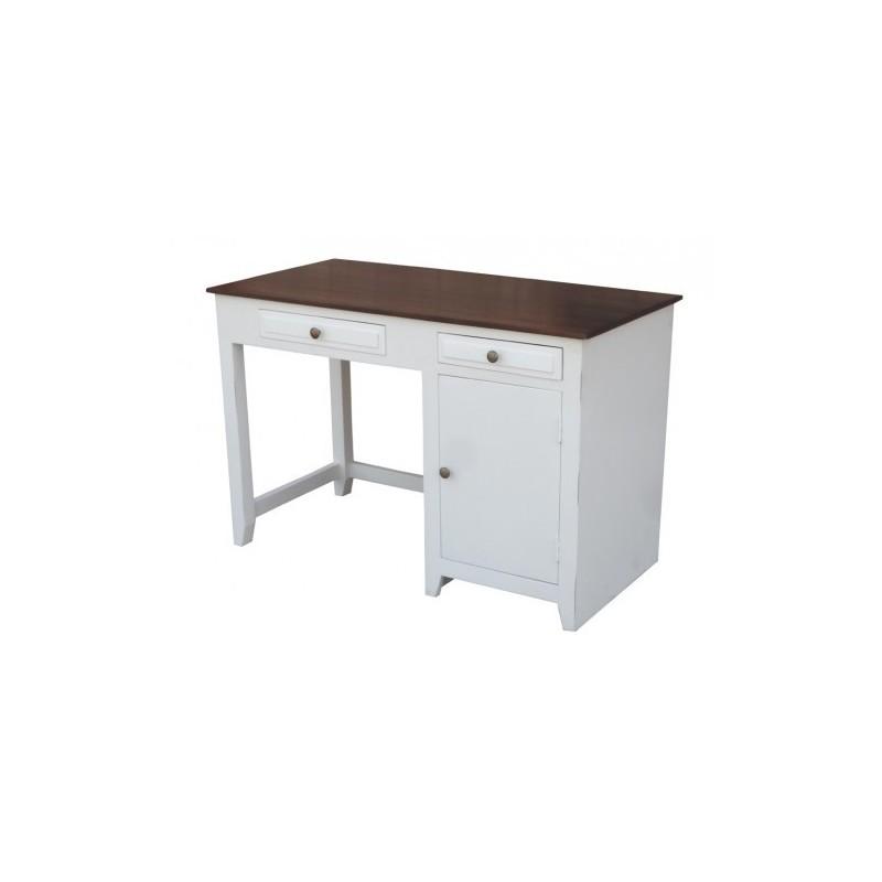 Indyjskie drewniane biurko H 120